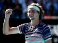 Зверев обыграл Вавринку и вышел в полуфинал Australian Open