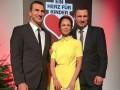 Гимн Украины перед боем Кличко - Джошуа исполнит Наталья Кличко