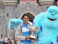 Надаль отпраздновал победу на Ролан Гаррос в Диснейденде  (ФОТО, ВИДЕО)