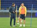 Кравец досрочно покинул тренировку сборной Украины из-за проблем со спиной