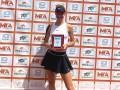 Соболева выиграла первый профессиональный титул в карьере