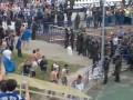 Артиллерия бьет по своим. Фанаты Зенита чуть не зашибли Данко Лазовича