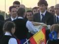Хлебом и солью. Встреча сборной Испании в Гданьске