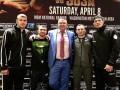 Украинские боксеры провели пресс-конференцию накануне вечера бокса в США