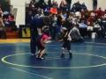 Схватка века: маленький спортсмен удрал от своей соперницы