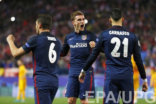 Атлетико обыграл Барселону и вышел в полуфинал Лиги чемпионов