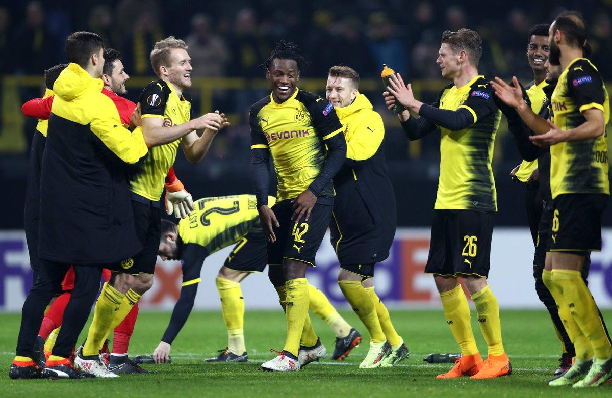 Прогноз на матч Боруссия Дортмунд - Аталанта 15 февраля 2018