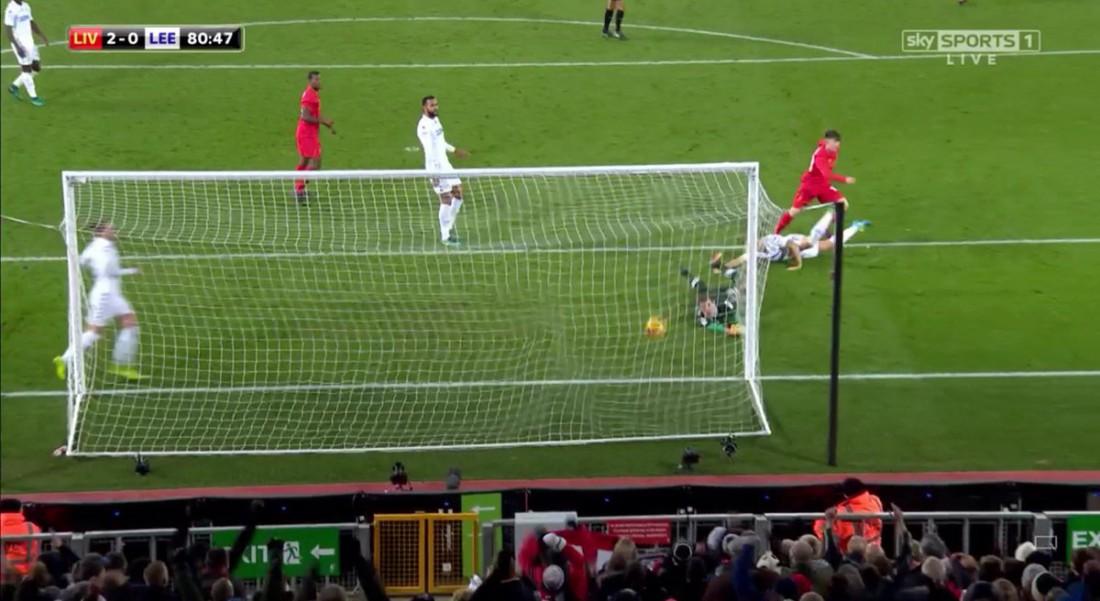 Бенджамин Вудберн забил за Ливерпуль дебютный гол