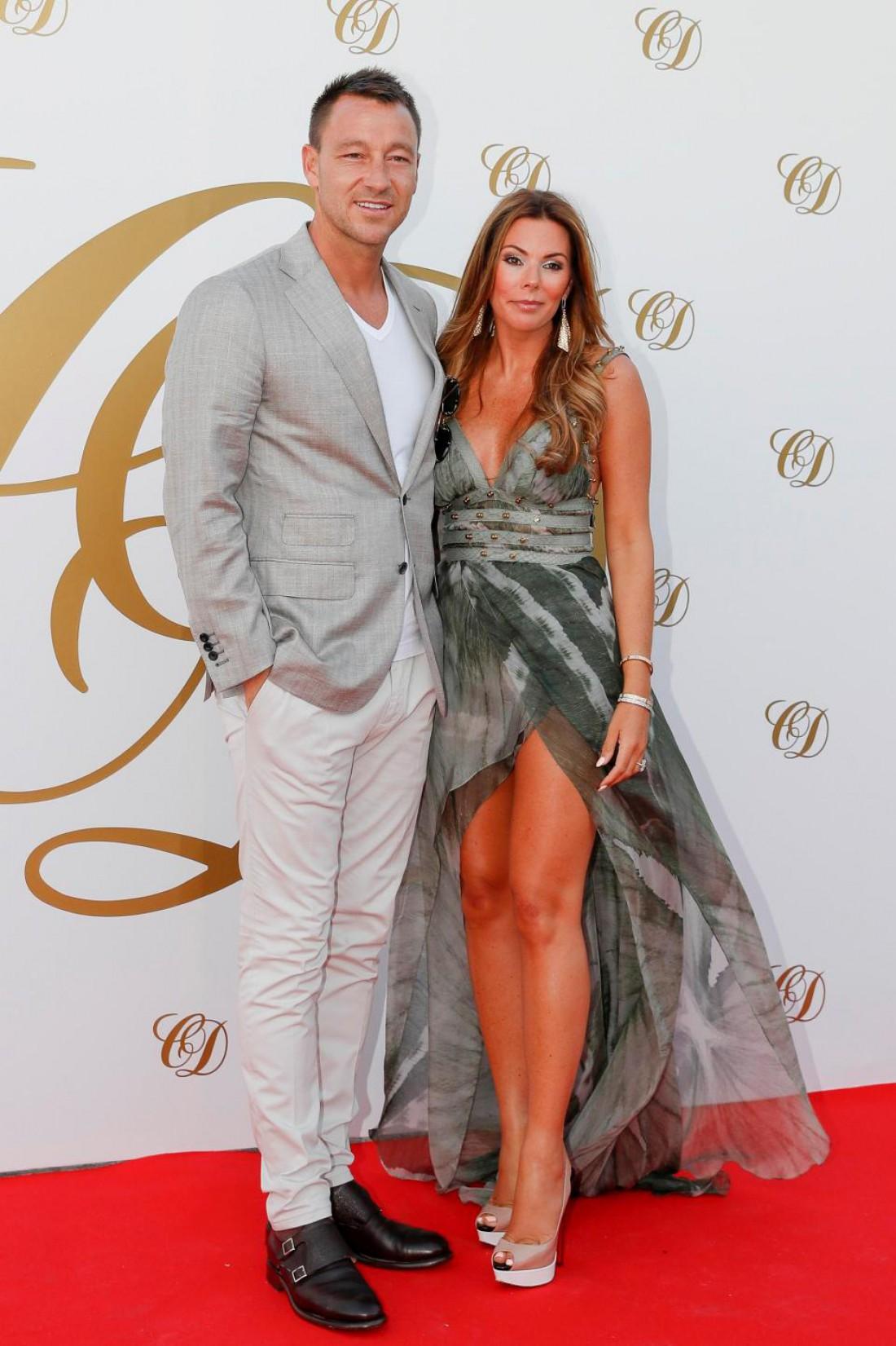 Легенда Челси Джон Терри с супругой Софи