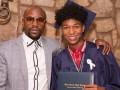 Горжусь своим сыном – Мейвезер побывал на выпускном