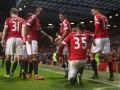 Манчестер Юнайтед забил два мяча в ворота Вест Бромвича