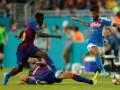 Барселона - Наполи 2:1 Видео голов и обзор матча