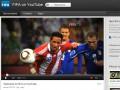 FIFA открыла официальный канал на YouTube
