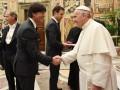 Сборная Германии встретилась с Папой Римским