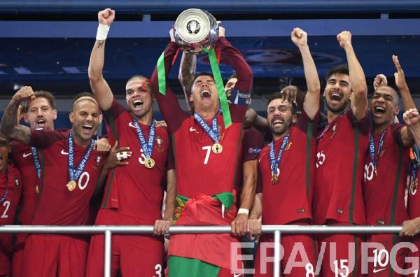 Роналду сказал проникновенную речь после победы на Евро