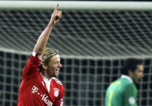 Тимощук надеется продлить контракт с Баварией
