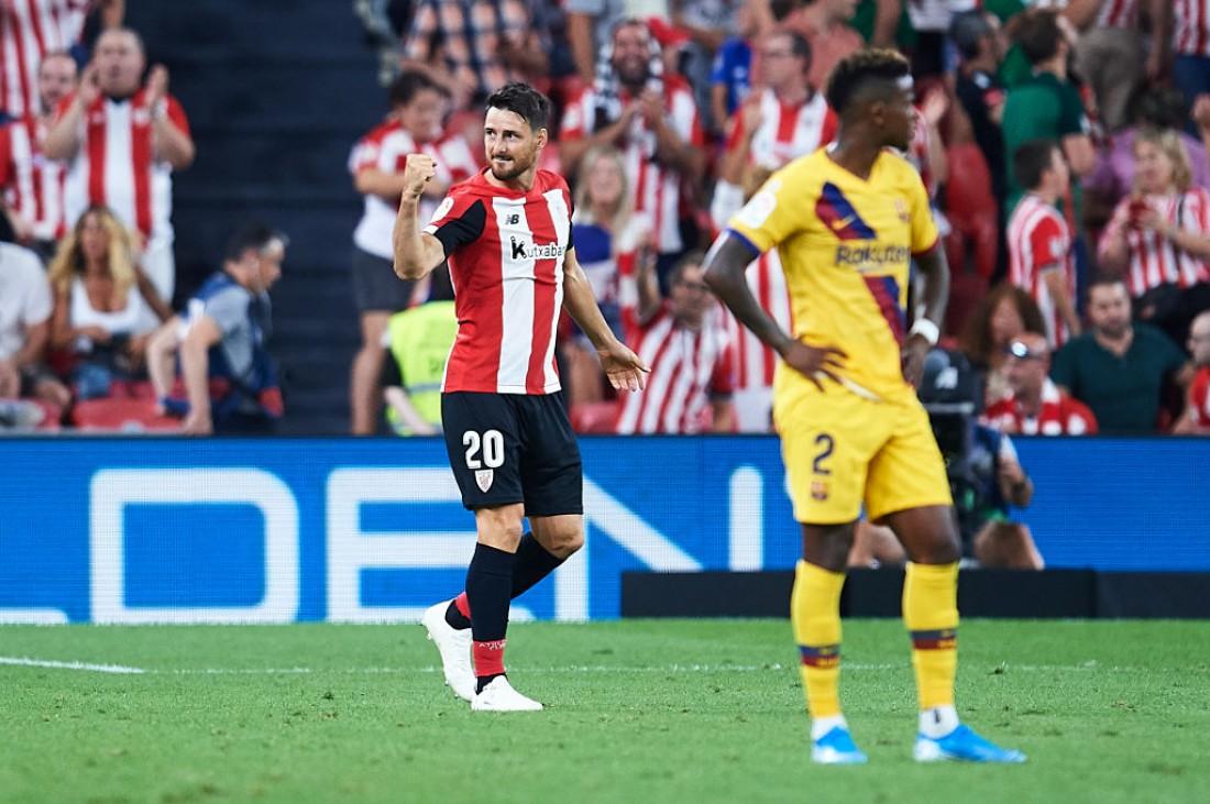 Ариц Адурис в матче против Барселоны