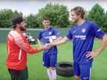 Звезды Челси исполнили невероятные трик-шоты для парней из YouTube