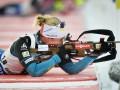Биатлон: Дорэн Абер победила в спринтерской гонке, Джима - 21-ая