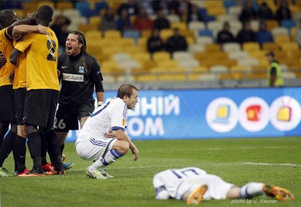 Скромный Генк одала в Киеве Динамо