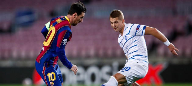 Динамо - Барселона: онлайн-трансляция матча Лиги чемпионов