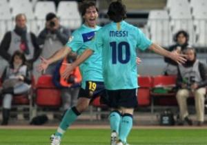 Примера: Барселона устроила дежурный погром Осасуне