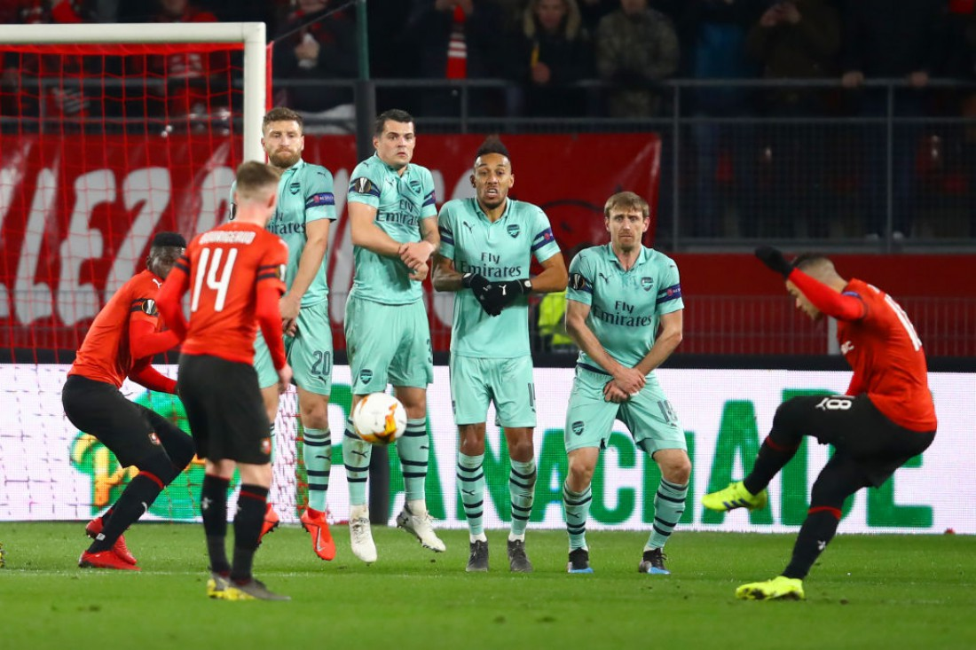 Ренн - Арсенал: видео голов и обзор матча