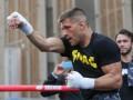 Деревянченко провел открытую тренировку в преддверии боя с Головкиным