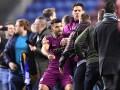 Форвард Ман Сити подрался с фанатом соперника после матча Кубка Англии