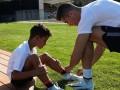 Сын Роналду начал заниматься в академии Ювентуса