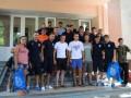 Черноморец встретился с ранеными воинами сил АТО