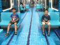 Метро в Тайпее превратилось в спортивные площадки