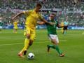 Украина безвольно проиграла Северной Ирландии на Евро-2016