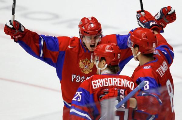 Молодежная сборная России обыграла Канаду