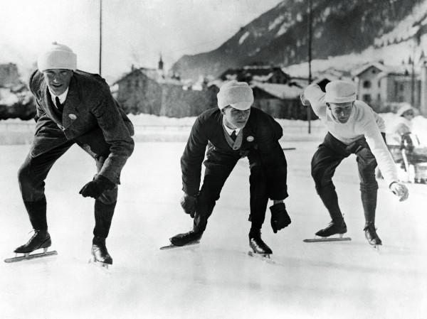История зимних игр