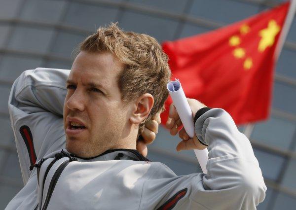 Феттель надеется на победу в Китае