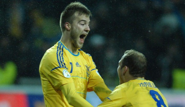 Украина осталась в ТОП-20 рейтинга FIFA