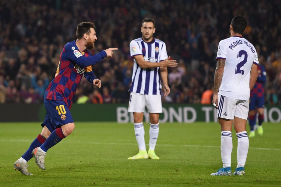 Барселона обыграла Вальядолид