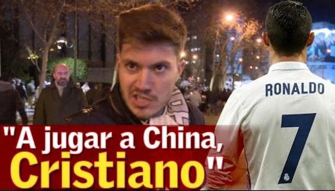 Болельщики отправляют Роналду в Китай