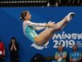 Украинки Кийко и Малькова завоевали серебро в синхронных прыжках на батуте