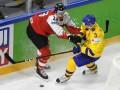 Швеция - Австрия 7:0 видео шайб и обзор матча ЧМ-2018 по хоккею