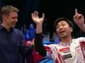 Японский спортсмен повеселил общением с журналистом