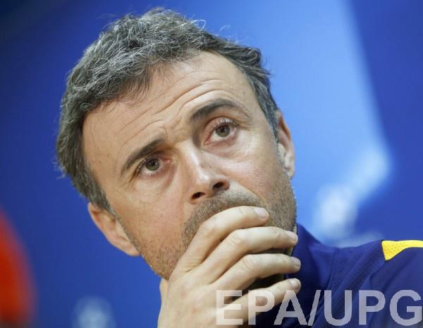 Луис Энрике на предматчевой пресс-конференции