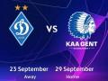 Динамо - Гент: где смотреть матчи плей-офф отбора Лиги чемпионов