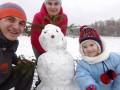Пидручный привез зиму домой на радость сыну