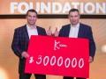 Братья Кличко собрали на аукционе беспрецедентную сумму пожертвований