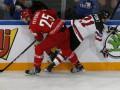 Беларусь - Канада 0:6 Видео шайб и обзор матча ЧМ по хоккею