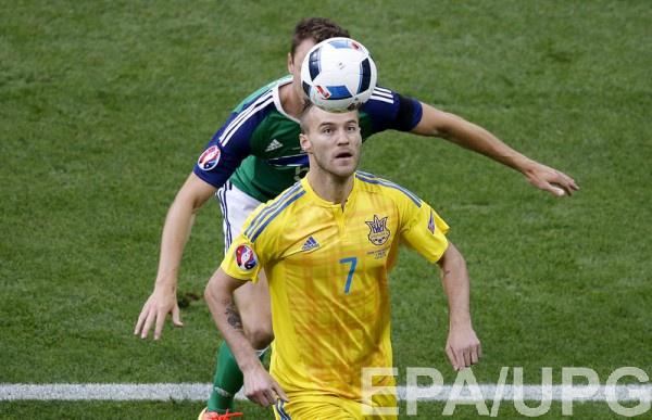 Ярмоленко стыдно за результат матча с Северной Ирландией