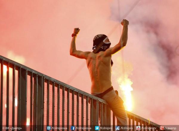 Ультрас Днепра бойкотирует матч Лиги Европы