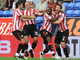 Даррен Бент празднует дебютно-победный гол за Сандерленд